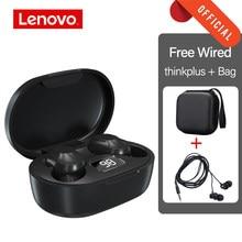 Lenovo Ha Condotto Auricolare TWS Senza Fili di Bluetooth del Trasduttore Auricolare Stereo Cuffie Da Gioco di Sport Auricolari Per Android iPhone Xiaomi Huawei moto