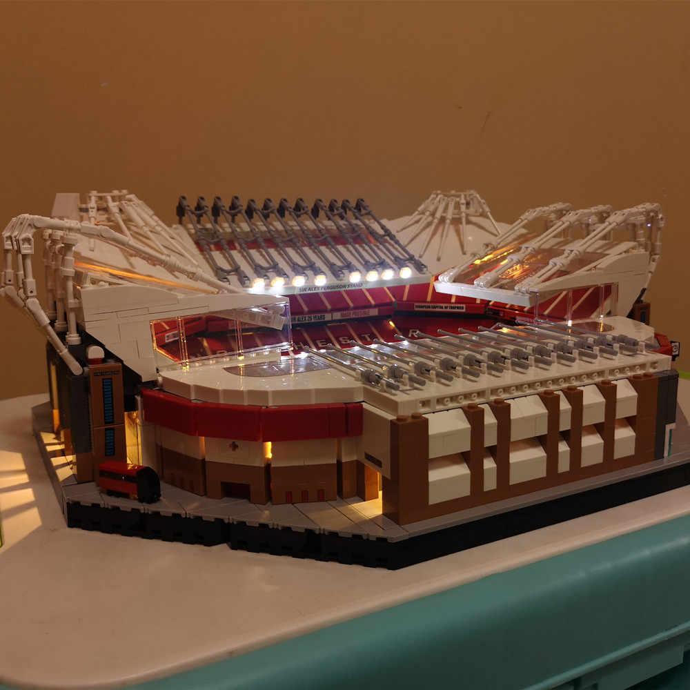 Zestaw oświetlenia LED pasuje do Lego 10272 Old Trafford Manchester klocki do rozświetlania klocki (Model nie wchodzi w skład zestawu)
