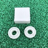 4pcs/10pcs ZrO2 full Ceramic bearing 605 5*14*5 mm Zirconia Ceramic deep groove ball bearings 5mmx14mmx5mm