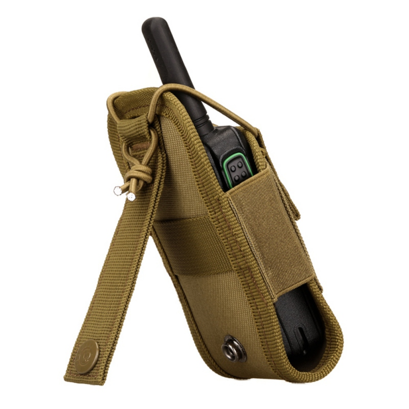 Military Airsoft Tactical Molle Radio Pouch Walkie Talkie Wasit Bag Holder Pocket Bag Army Shooting Hunting Mag Pouch