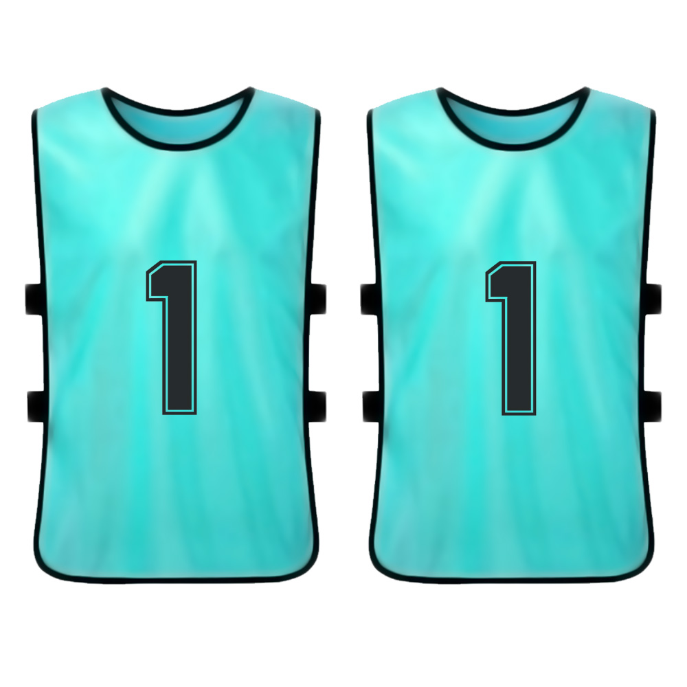 Outdoor Sports 6 PCS Adults Soccer Pinnies Quick Drying Football Jerseys Vest Breathable Team Training Practice Sports Vest