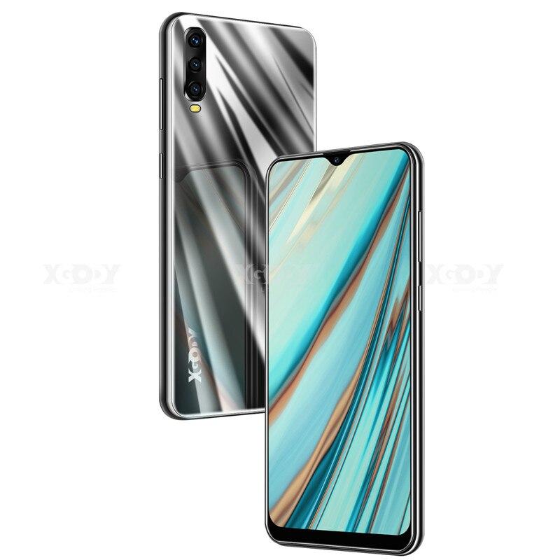XGODY 6,53 дюймов 3G мобильный телефон Android 9,0 Celular экран капли воды смартфон 2 Гб 16 Гб MTK6580 четырехъядерный две sim-карты 5Мп камера