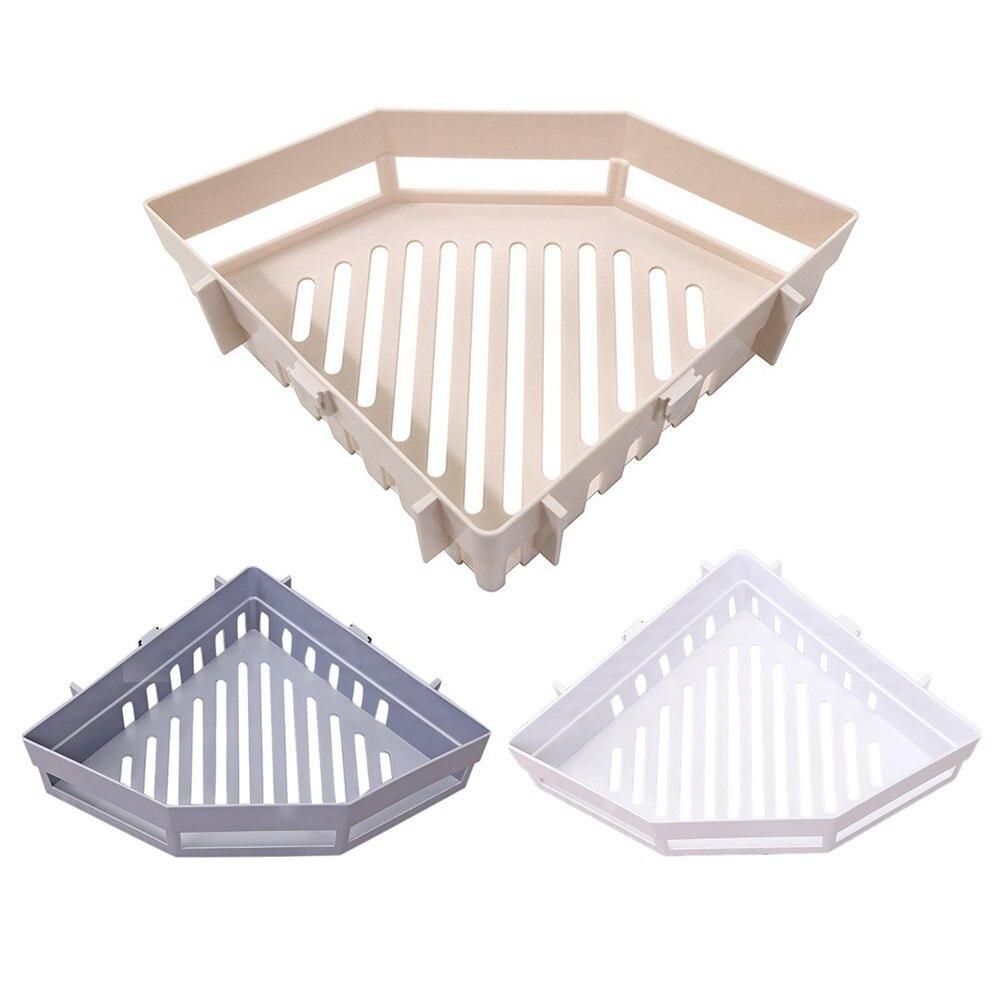 Купить настенный угловой держатель для ванной комнаты стеллаж хранения