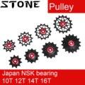 Stone Pulley Wheel Gear Guide Roller Jockey 10t 12t 14t 16t Bearing Road MTB Bike Rear Derailleur for GX XX1 for Shimano M9000