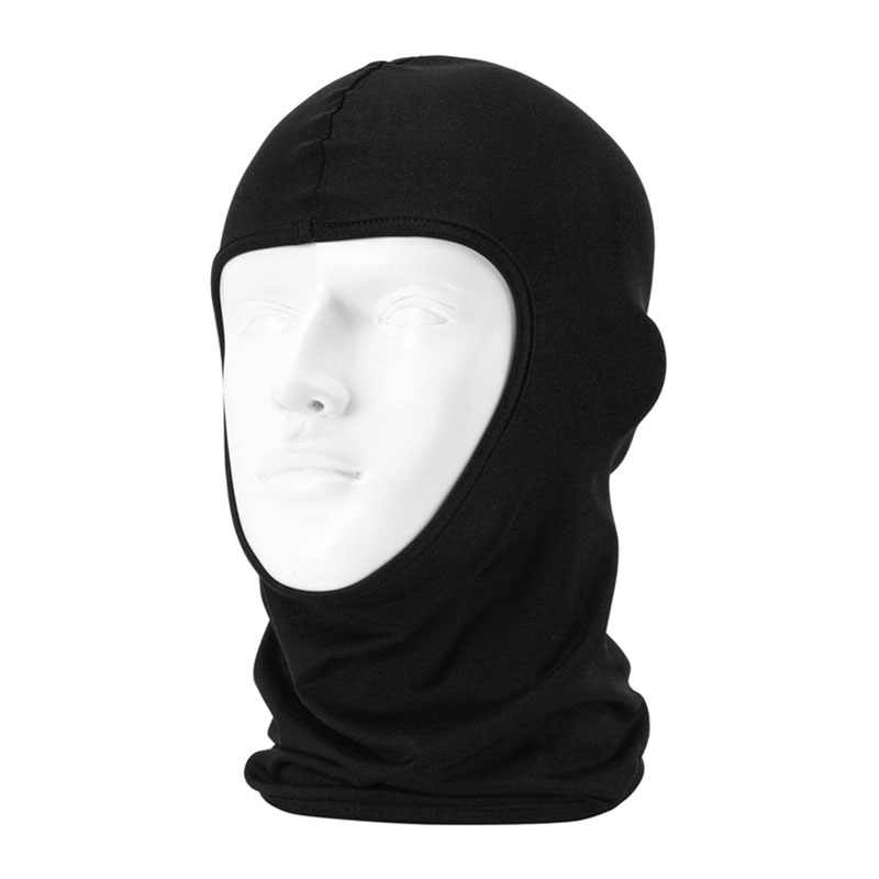 1 pçs da motocicleta chapelaria máscara balaclava chapéu cabeça cachecol capacete completo capacete protetor xale cs chapelaria bicicleta corrida