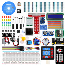 Lafvin Super Starter Kit Voor Raspberry Pi, model 3B + 3B 3A + 2B 1B + 1A + Zero W + Diy KitDemo bord