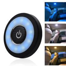 Usb шкаф Ночной светильник светодиодный Портативный круглый