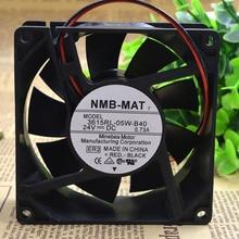 Original NMB 3615RL-05W-B40 9038 9CM 24V 0.73A waterproof inverter cooling fan new original dv6224 2 24v original plug inverter fan 55kw 75 90kw