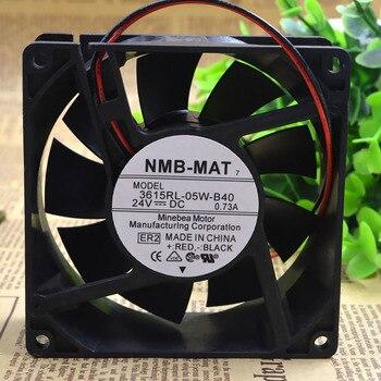 Original NMB 3615RL-05W-B40 9038 9CM 24V 0.73A waterproof inverter cooling fan цена 2017