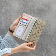 2019 Fashion Long Wallet Women all New Simple PU Leather Mobile Phone Bag High-end Large Capacity Card Holder Womens