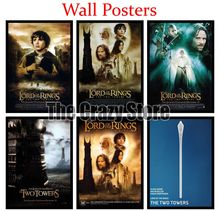 The Lord of the Rings The Two Towers White Kraft Paper Art Painting Print Poster Picture Wall Fashion Home Decor 42X30cm the lord of the rings part 2 the two towers