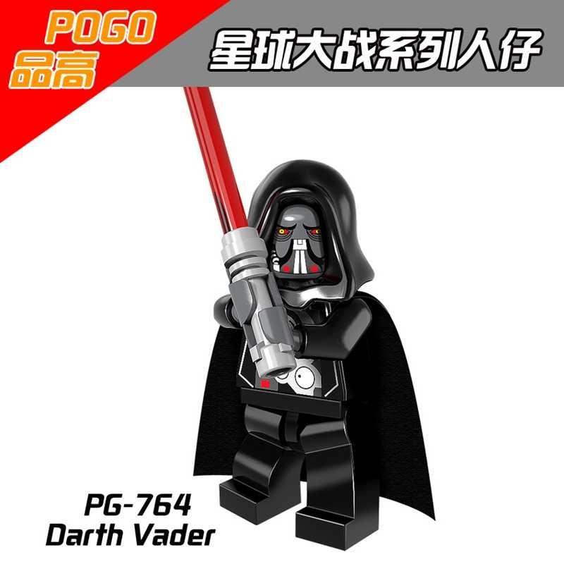 2019 Star Wars legoing figuras de Star Wars bloques el aumento de Skywalker Rey Caballero Jedi Darth Vader Anakin Compatible LegoINGlys