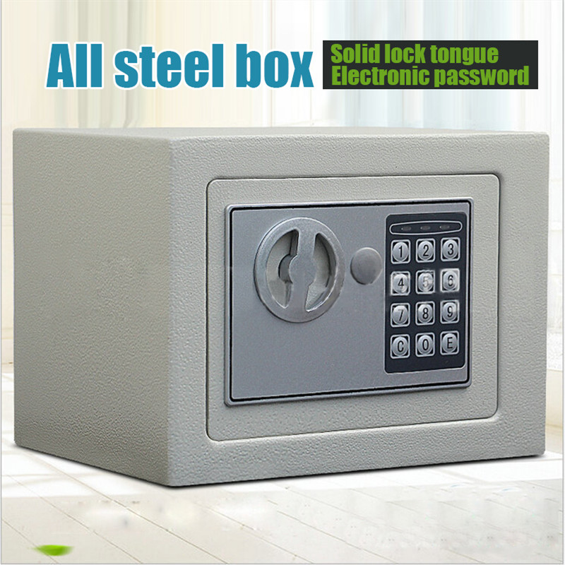 Golden Security High Quality Mini Anti-theft Home Small Electronic Password Office Steel Safes Home Property Safe Protection