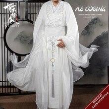 Uwowo – Costume de Cosplay de la série télévisée The Untamed, Lan Wangji, Mo Dao Zu Shi, Original, Lan Zhan, intérieur