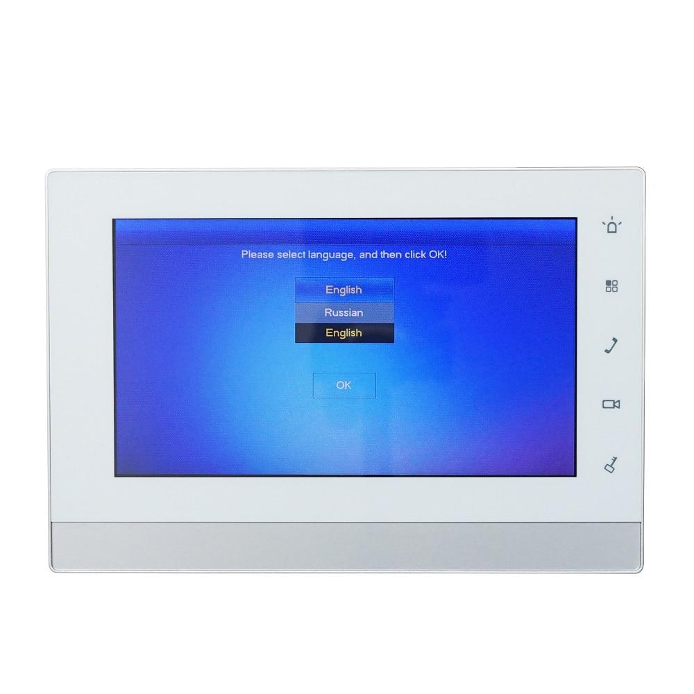 Купить с кэшбэком DH logo Multi-Language Video intercom KIT Include VTO2000A-S1 & VTH1550CH & PoE adapter,SIP firmware version