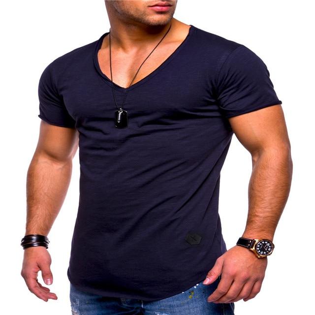 Deep V Neck Tshirt 4