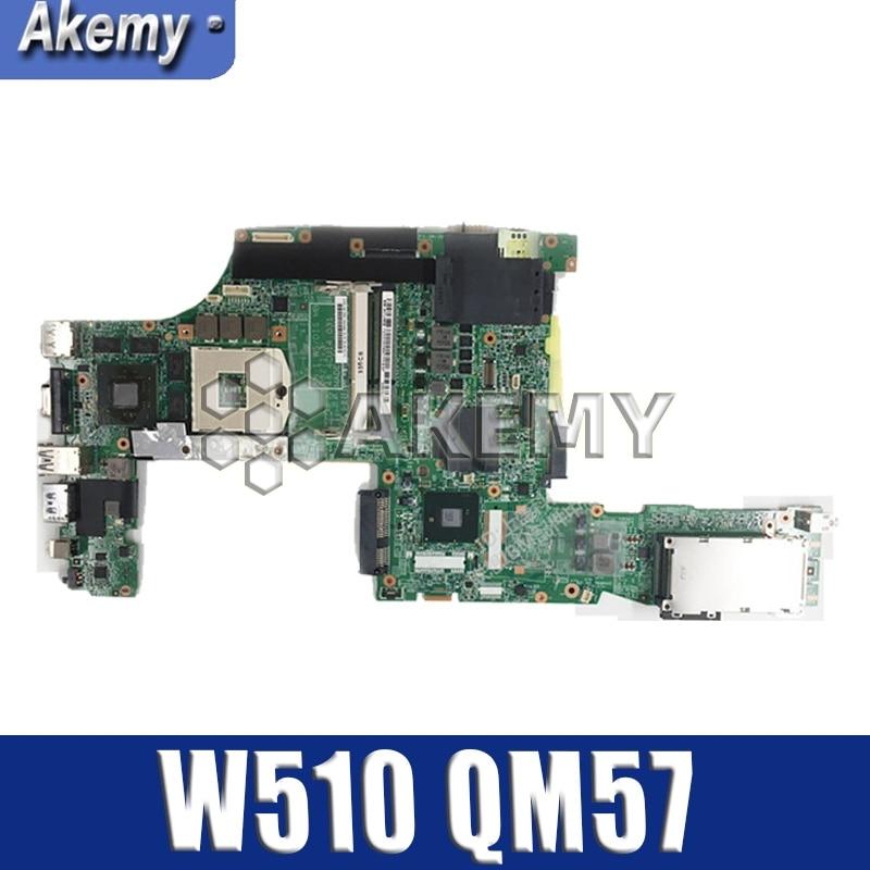laptop Motherboard For LENOVO Thinkpad W510 Mainboard 63Y1896 63Y1551 63Y2022 75Y4115 08271 3 48.4CU14.0 QM57 N10P GL A3 Motherboards     - title=