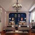 Пост-современный скандинавский с узором «елочка» современный подвесной светильник Гостиная Обеденная затемнения G9 лампа подвесной светил...