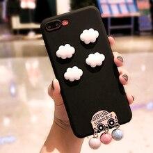 For Redmi Note 8 8A 8T 7 7A Pro Cute Clouds Case Fo