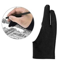 Glove Two-Finger-Glove Drawing Artist Painting for Any-Graphics Tablet M 1-Pc Nti-Fouling
