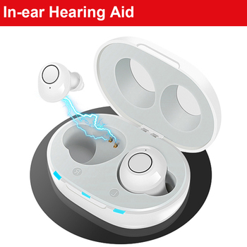 deaf aid Hearing Aid New Intelligent style Low-noise Wide-frequency One-click Operation Elderly In-ear Hearing Aids rechargeable