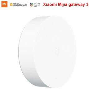 Image 2 - Newest xiaomi mijiaゲートウェイ 3 zigbeeマルチモードスマートホーム無線lan bluetoothハブで動作mijiaアプリapple homekitインテリジェントハブ