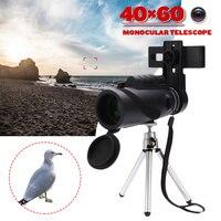 40x60 preto binóculos micro visão noturna de alta qualidade zoom handheld telescópio militar hd caça acampamento profissional|Lunetas| |  -
