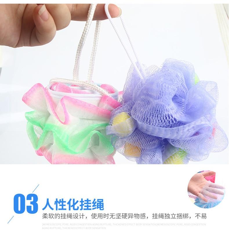 Напрямую от производителя продает большой размер мяч для ванной банная губка-сеточка мяч бытовой тертый полотенце полезный продукт натирает заднюю пузырку