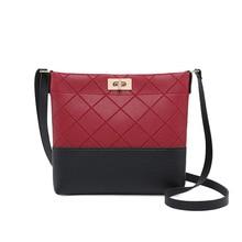bucket bag with lock crossbody bags for women 2019 PU leather shoulder bag ladies handbag mini sling bag for women messenger bag все цены