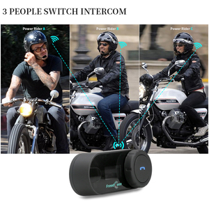 Image 3 - FreedConn TCOM SC Bluetooth motorfiets interphone headset helm intercom LCD scherm met FM radio + zacht oortje