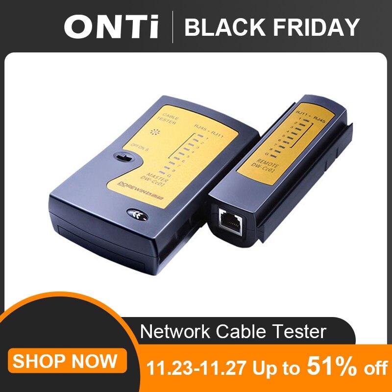 Профессиональный тестер сетевого кабеля RJ45 RJ11 RJ12 CAT5 UTP LAN, ручной детектор проводки, телефонной линии