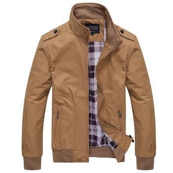 PAULKONTE High Quality Casual Jacket Men Slim Fit Zipper Bomber Jacket Man Spring Coat Jaket Fashion Solid Streewear Jacekts