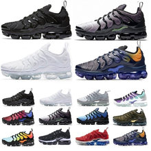 New 2020 Mens Shoes TN Breathable Cusion Desingers Running Shoes Metallic Gold Obsidian Tropica New Color sports Sneakers(China)