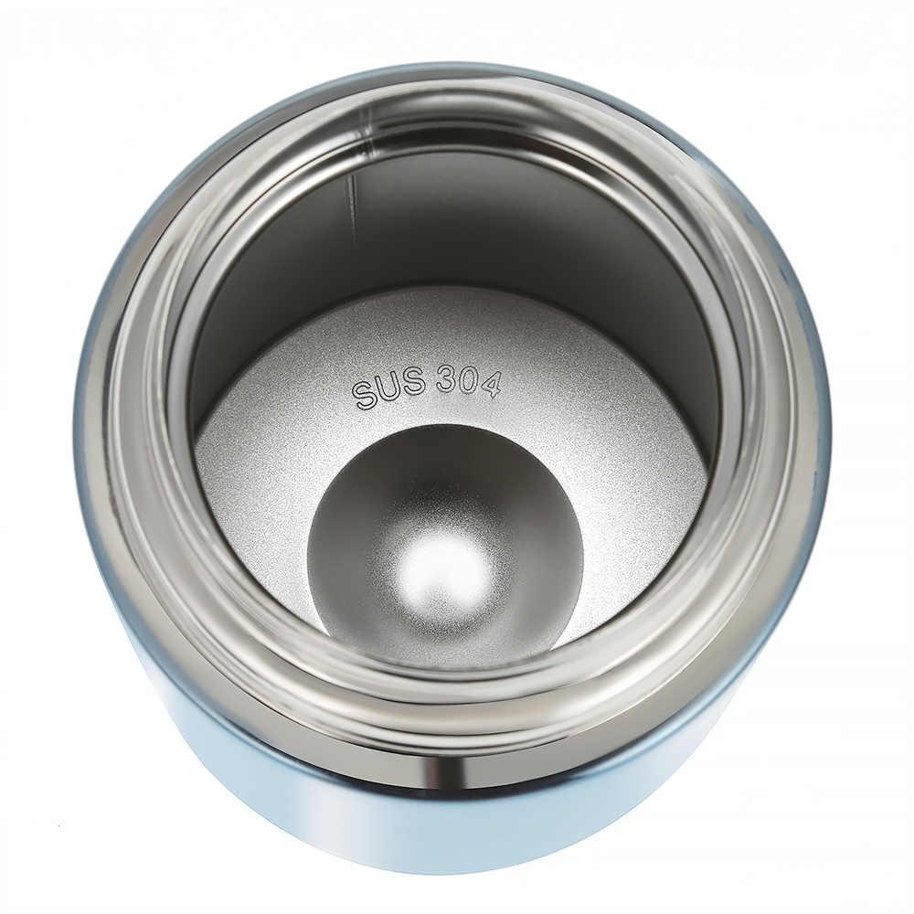 Oryginalna 1000ML duszona zlewka ze stali nierdzewnej podwójna ściana smalder żywności owsianka izolowane termos garnek próżniowy zupa obiad wiadro