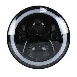 Fabricantes que venden lámparas de motocicleta RGB Harley de 7 pulgadas y lámparas LED lámparas de motocicleta de campo traviesa