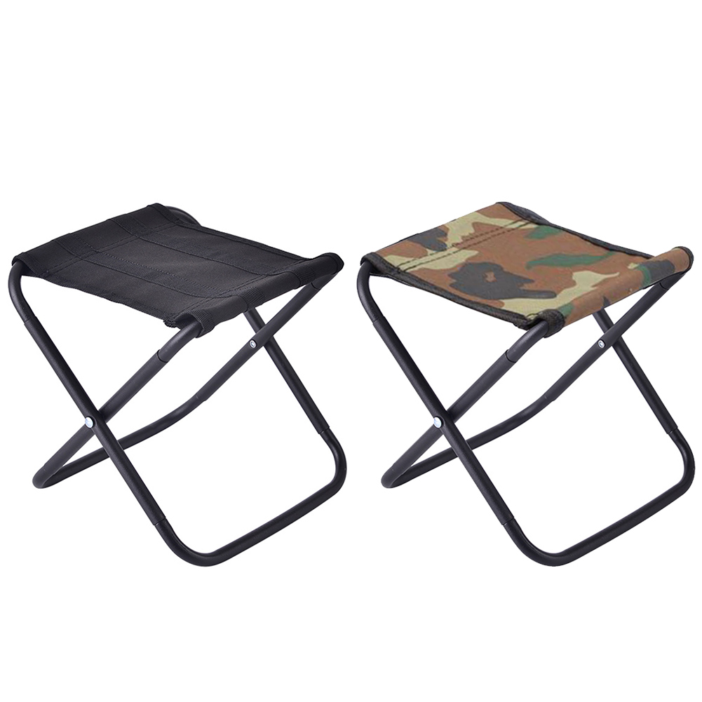 Collapsible Camping Seats Hiking Stool Portable Lightweight Folding Stool Outdoor Camping Fishing Barbecue Travel Chair