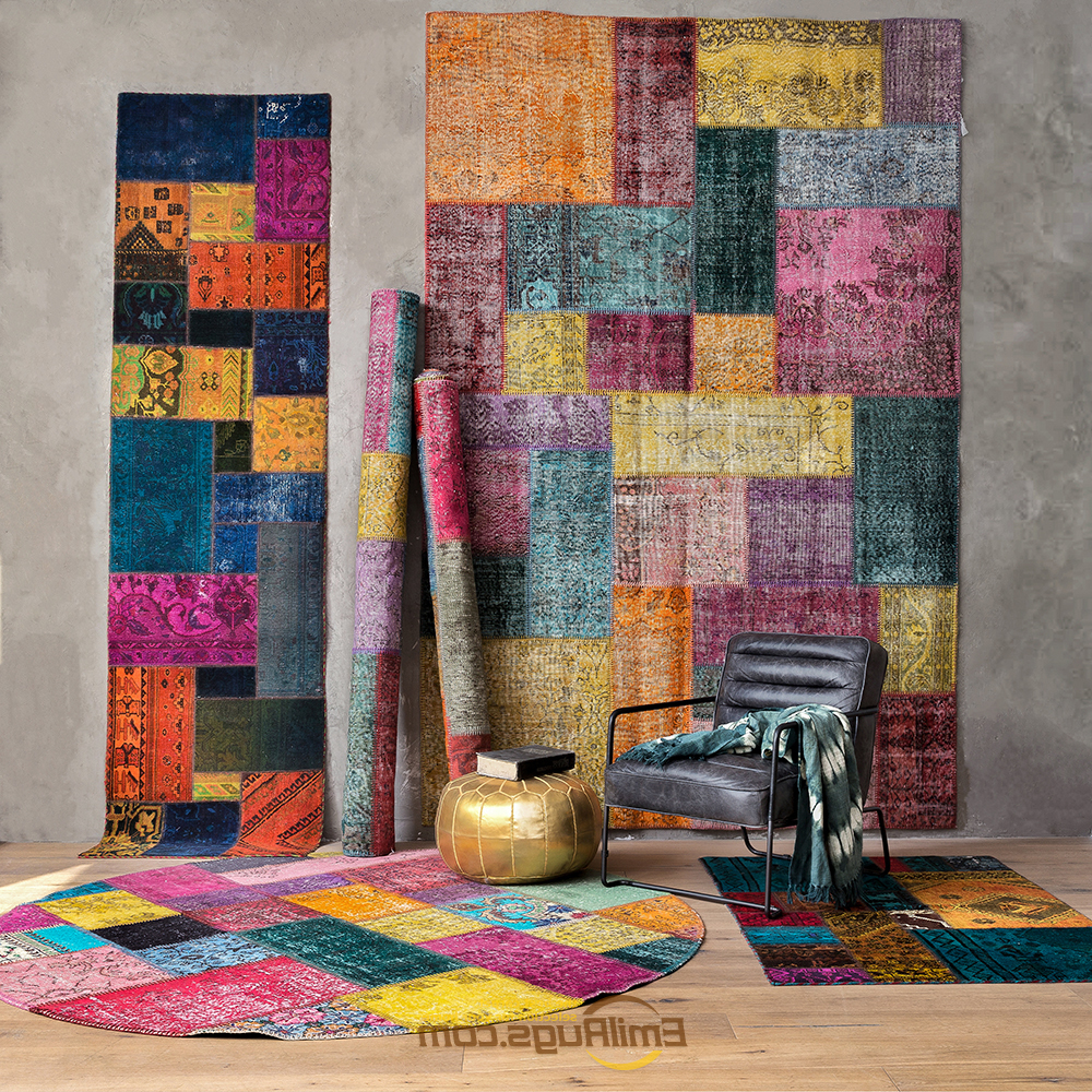 Hand Woven Kilim Carpet Knitted  Home For Living Room Geometric TURKISH Wool Knitting Carpets