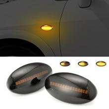 Luz LED intermitente secuencial, indicador lateral para Suzuki Swift Alto SX4 Jimny Celerio, luz ámbar contra salpicaduras, Uds.