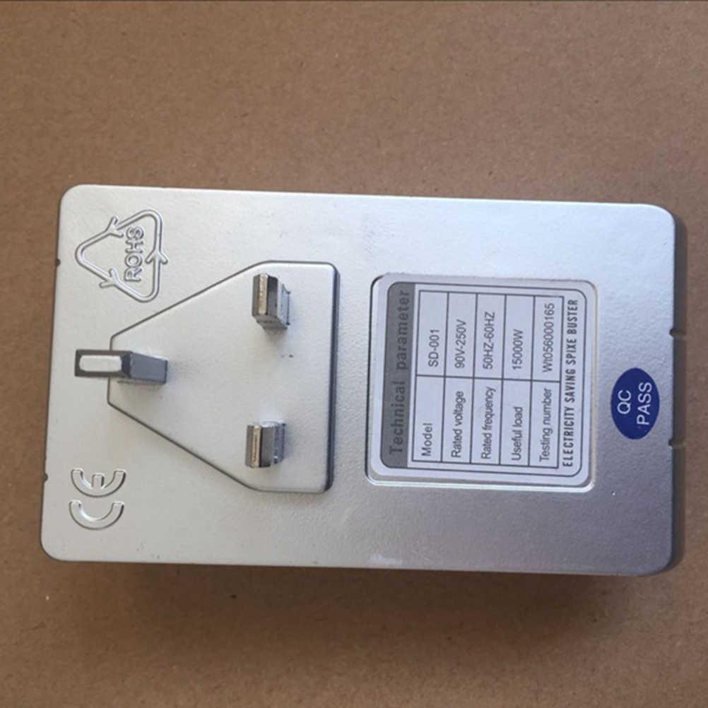 90 V-250 V Smart Power LED Scatola di Risparmio di Energia Intelligente Dispositivo di Risparmio di Energia Elettrica Bill Killer Fino A 30% STATI UNITI REGNO UNITO Spina di UE