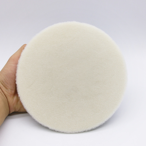Image 4 - 5นิ้วจัดแต่งทรงผมJapan Wool Polishing PadสำหรับPolisherรถPadชุดขนสัตว์Finish Polishing Pad