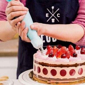 Image 2 - 106pcs/set Creative Cake Decorating Kit Pastry Tube Fondant Tool Kitchen Dessert Baking Pastry Supplies Cake Turntable Set Hot