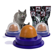 Cat Snacks Catnip Sugar Candy Licking Solid Nutrition Gel Energy Ball Toys For Cats Kittens Interactive Toy Healthy