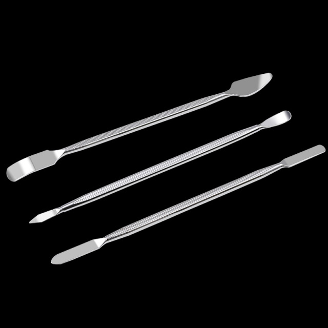 3pcs Universal Mobile Phone Repair Opening Tool Metal Disassemble Crowbar Metal Steel Pry Phone Hand Tool