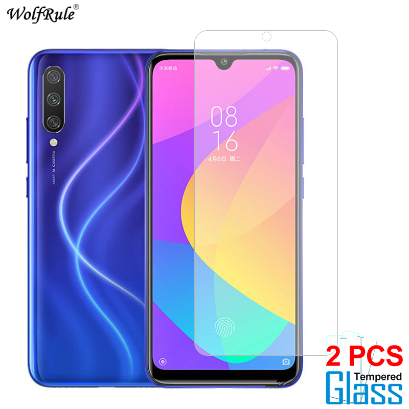 2Pcs Glass For Xiaomi Mi A3 A2 Lite 9 Lite Redmi 8A 7 Note 8T 8 Pro Screen Protector Tempered Glass Protective Phone Film
