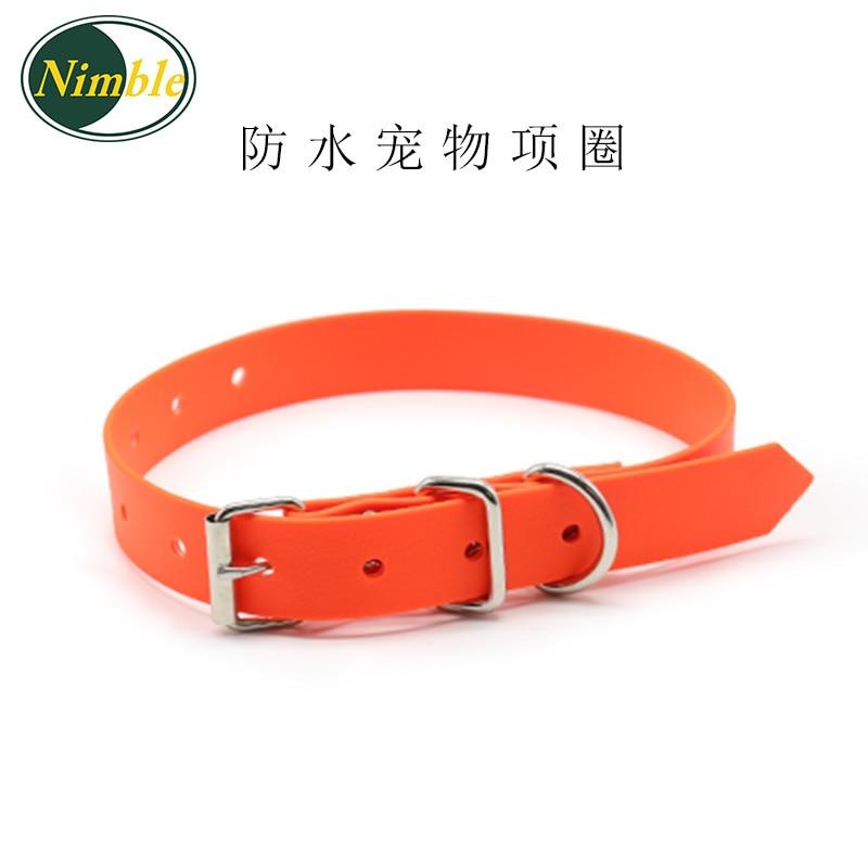 Hot Selling Waterproof PVC Pet Collar Wear-Resistant Antifouling Dog Neck Ring Pet Supplies
