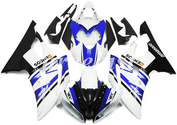New ABS Motorcycle Full Fairings Kit Fit For YAMAHA YZF-R6 2008 - 2016 08 09 10 11 12 13 14 15 16 body set White Blue