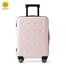 NINETYGO run mi 90FUN Polka Dots luggage for Women-20 inch 90fun