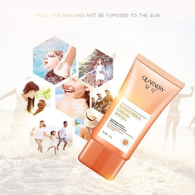 Купить весной и летом spf 50 солнцезащитный всего тела изоляции с защитой