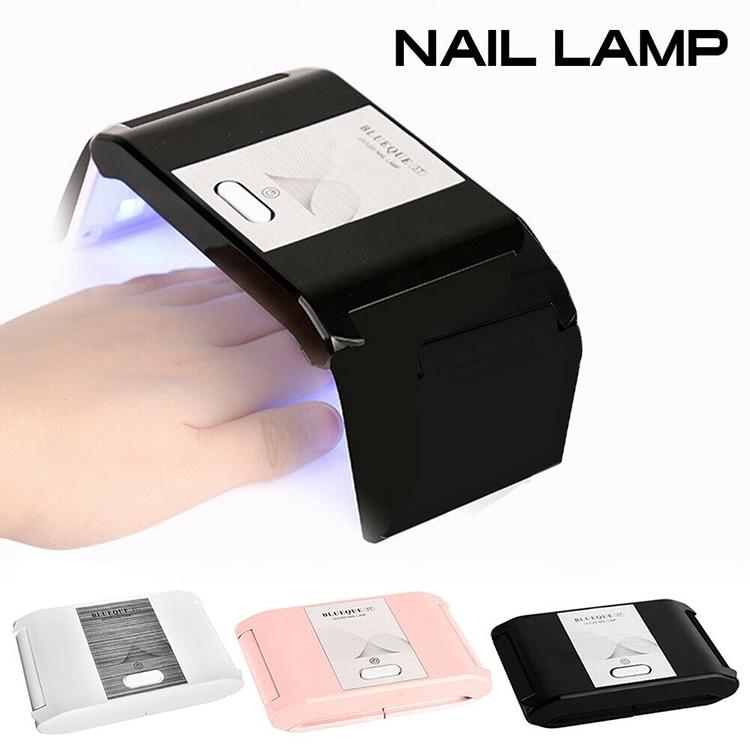 3 цвета складной Портативный Сушилка для ногтей 36 Вт для маникюра все Гель-лак для ногтей инструменты для ногтей светодиодный светильник и н...