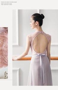 Image 5 - Mono de LICRA sin mangas para mujer, leotardos para Ballet latino, para adulto